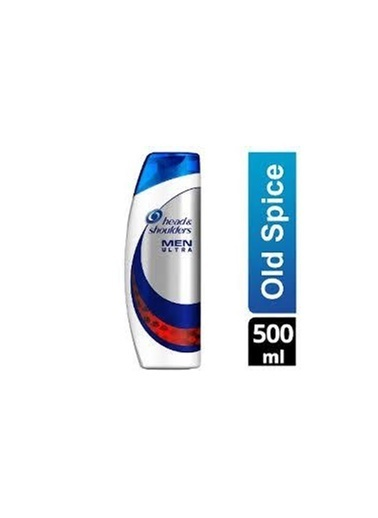 Head & Shoulders Head Shoulders Men Ultra Şampuan Old Spice 500 Ml Renksiz